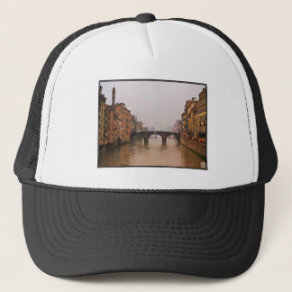 Florence Bridge With Love Quote Trucker Hat