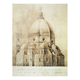 Florence Cathedral from the East, from 'Fragments Postcard