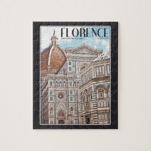 Florence Cathedral Jigsaw Puzzle