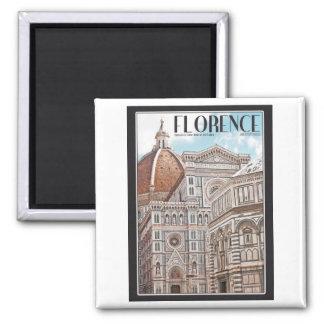 Florence Cathedral Fridge Magnet