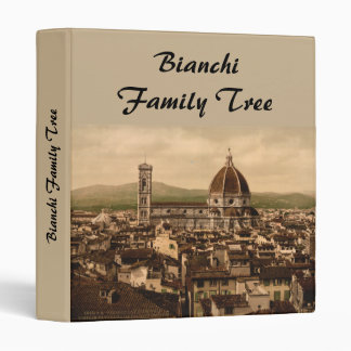 Florence Cathedral, Tuscany, Italy 3 Ring Binder