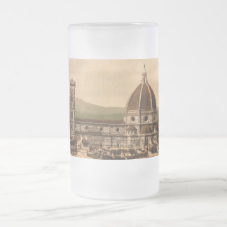 Florence Cathedral, Tuscany, Italy Frosted Glass Beer Mug