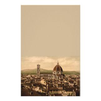 Florence Cathedral, Tuscany, Italy Custom Stationery