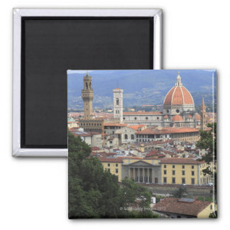 Florence Cityscape 2 Inch Square Magnet