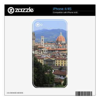 Florence Cityscape Decals For iPhone 4S