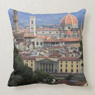 Florence Cityscape Throw Pillows
