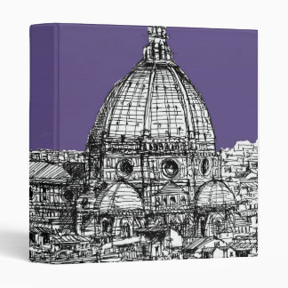Florence dome in lilac binder