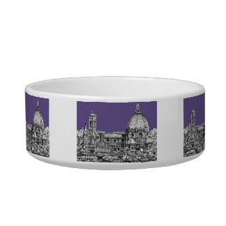 Florence dome in lilac bowl