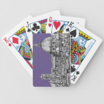 Florence dome in lilac poker cards
