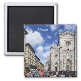 Florence Duomo 2 Inch Square Magnet