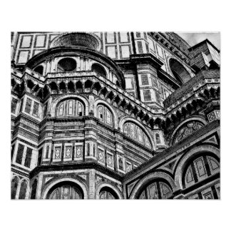 Florence Duomo Cathedral Italy Poster