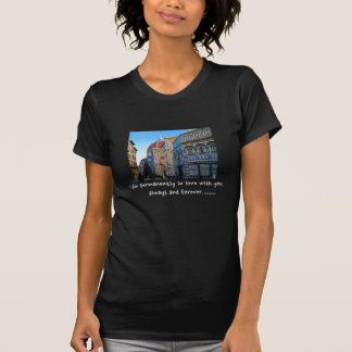 Florence Duomo Cathedral with Love Quote T-Shirt