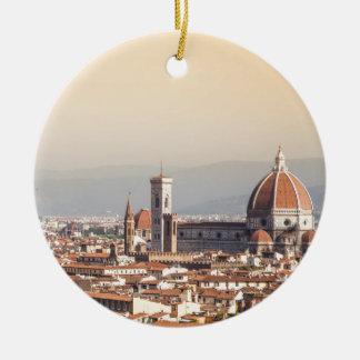 Florence Duomo Ceramic Ornament