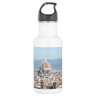 Florence Duomo from Michelangelo Square (new-St.K) 18oz Water Bottle