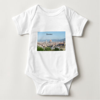 Florence Duomo from Michelangelo Square (new-St.K) Baby Bodysuit