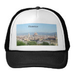 Florence Duomo from Michelangelo Square (new-St.K) Mesh Hats