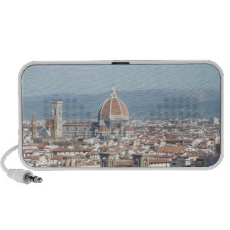Florence Duomo from Michelangelo Square (new-St.K) iPod Speakers