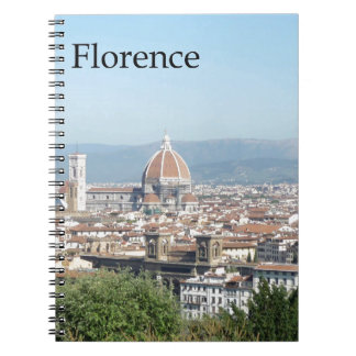 Florence Duomo from Michelangelo Square (new-St.K) Notebooks