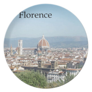 Florence Duomo from Michelangelo Square (new-St.K) Party Plate