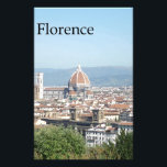"Florence Duomo from Michelangelo Square (new-St.K) Stationery<br><div class=""desc"">Stationery</div>"