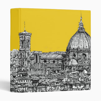 Florence duomo orange binder