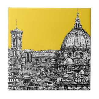 Florence duomo orange ceramic tile