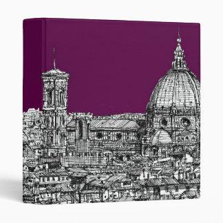 Florence duomo purple binder