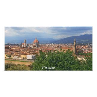 Florence Duomo, Santa Croche Personalized Photo Card