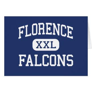 Florence - Falcons - High - Florence Alabama Greeting Card