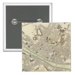 Florence Firenze 2 Inch Square Button