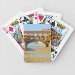 Florence -Firenze, Ponte vecchio Card Decks