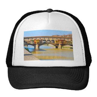 Florence -Firenze, Ponte vecchio Trucker Hat