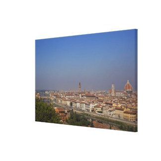 Florence from 'Piazzale Michelangelo' Canvas Print