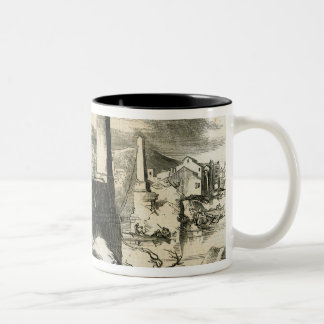 Florence, from the Ponte de Perro Two-Tone Coffee Mug