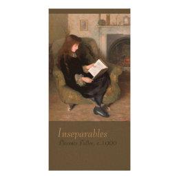 Florence Fuller Inseparables CC0301 Bookmark Card