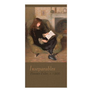 Florence Fuller Inseparables CC0301 Bookmark Custom Photo Card