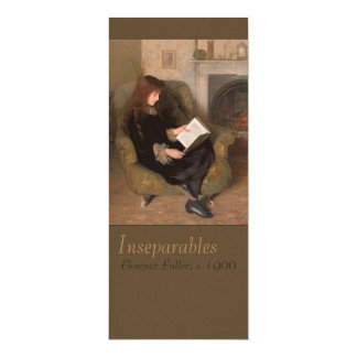 Florence Fuller Inseparables CC0385 Bookmark Card