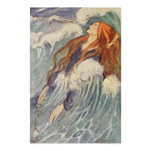 Florence Harrison _ Pale in Her Royal Crown Poster