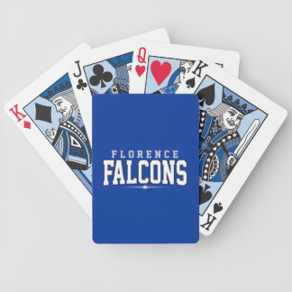 Florence High School; Falcons Bicycle Playing Cards