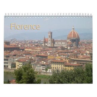 Florence, Italy 2013 Wall Calendar
