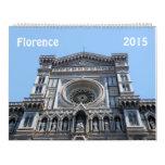 Florence, Italy 2015 calendar Wall Calendar