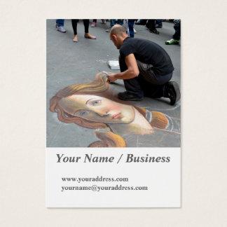 Florence, Italy 2016 calendar Business Card