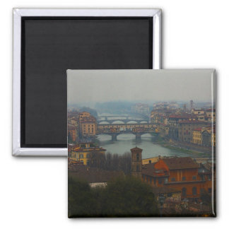 Florence, Italy 2 Inch Square Magnet