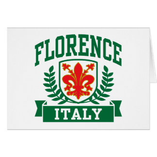 Florence Italy Card