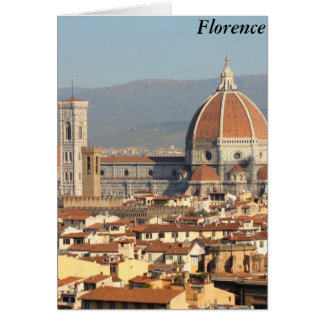 Florence, Italy Card