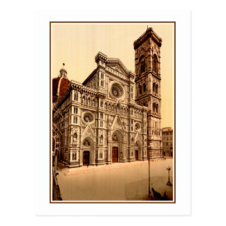 Florence Italy Cathedral and Bell Tower photo Postcard