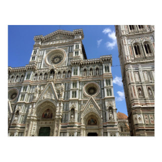 Florence Italy Cathedral Postcard