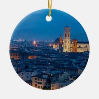 Florence Italy Ceramic Ornament