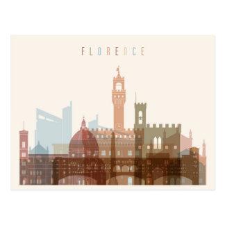 Florence, Italy | City Skyline Postcard