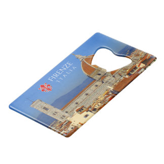 Florence, Italy Credit Card Bottle Opener
